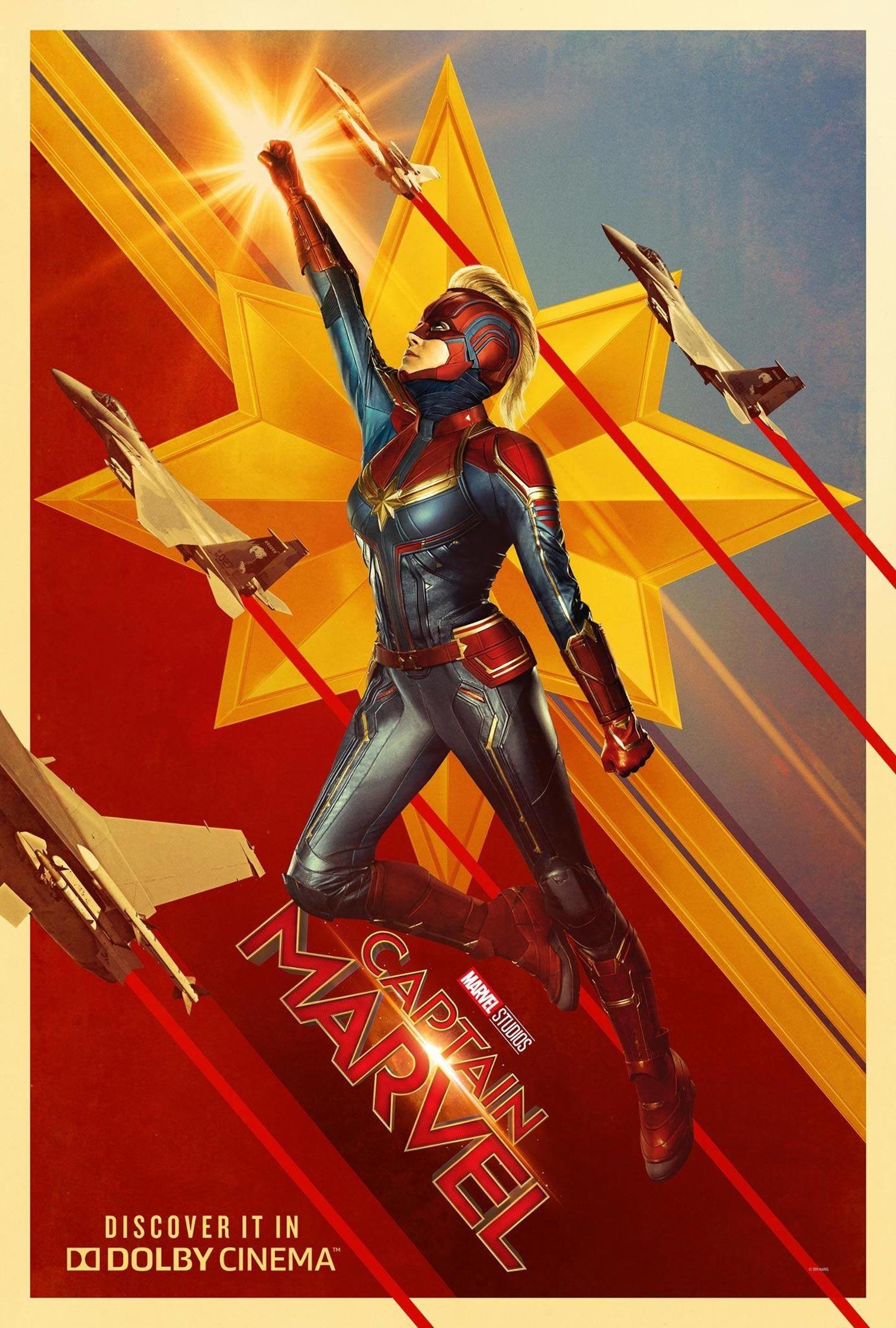 Captain Marvel Poster #4