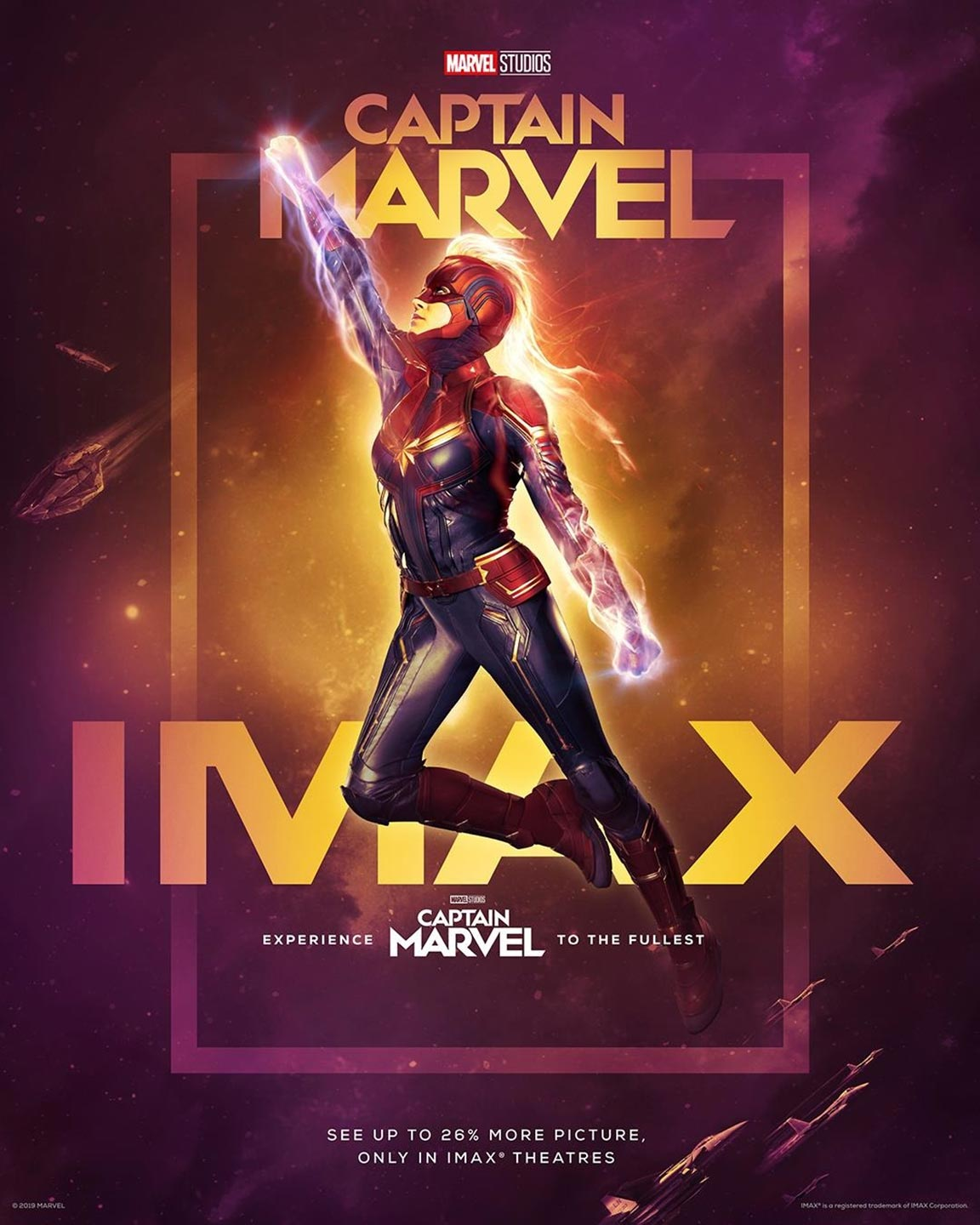 Captain Marvel Poster #5