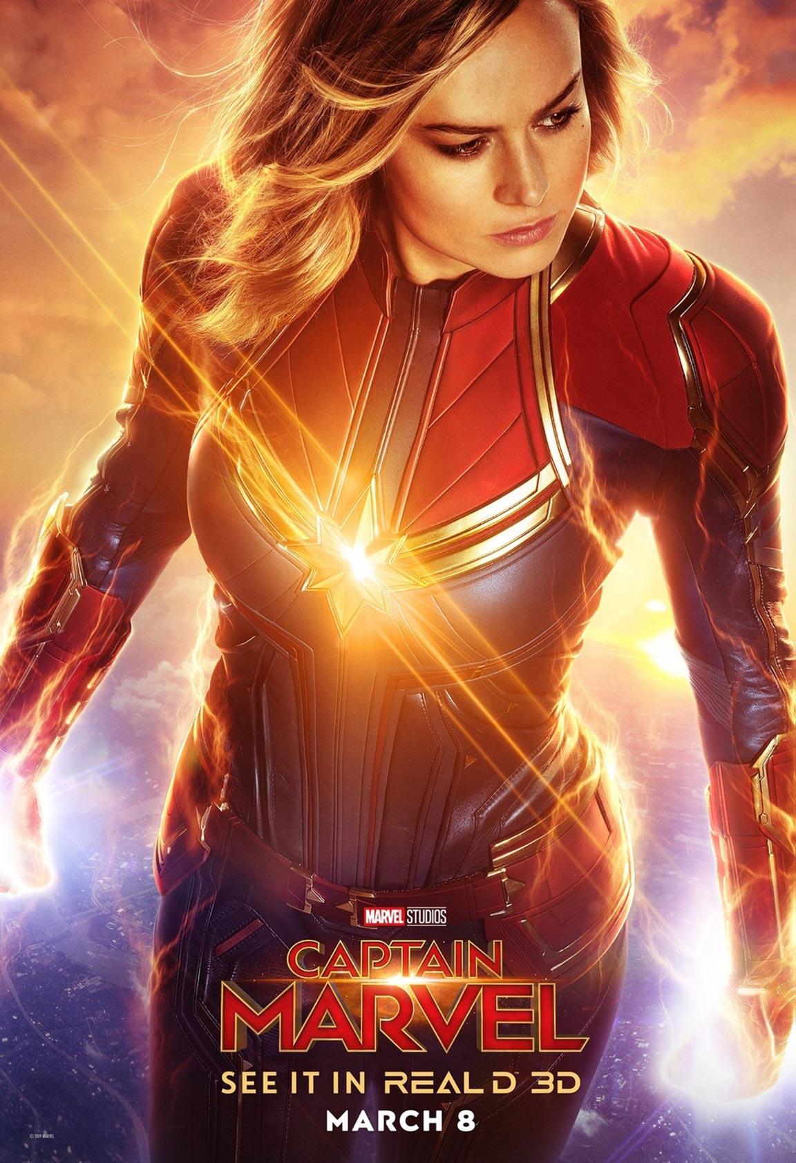 Captain Marvel Poster #6