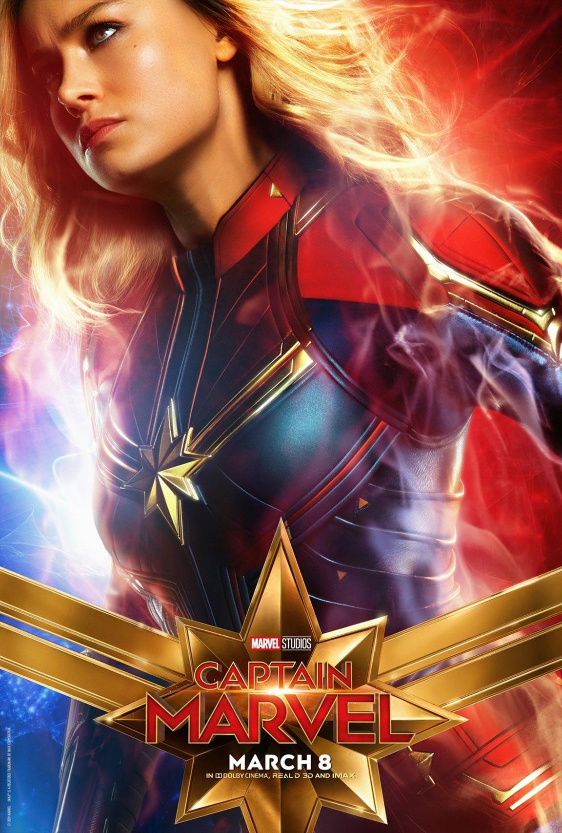 Captain Marvel Poster #7