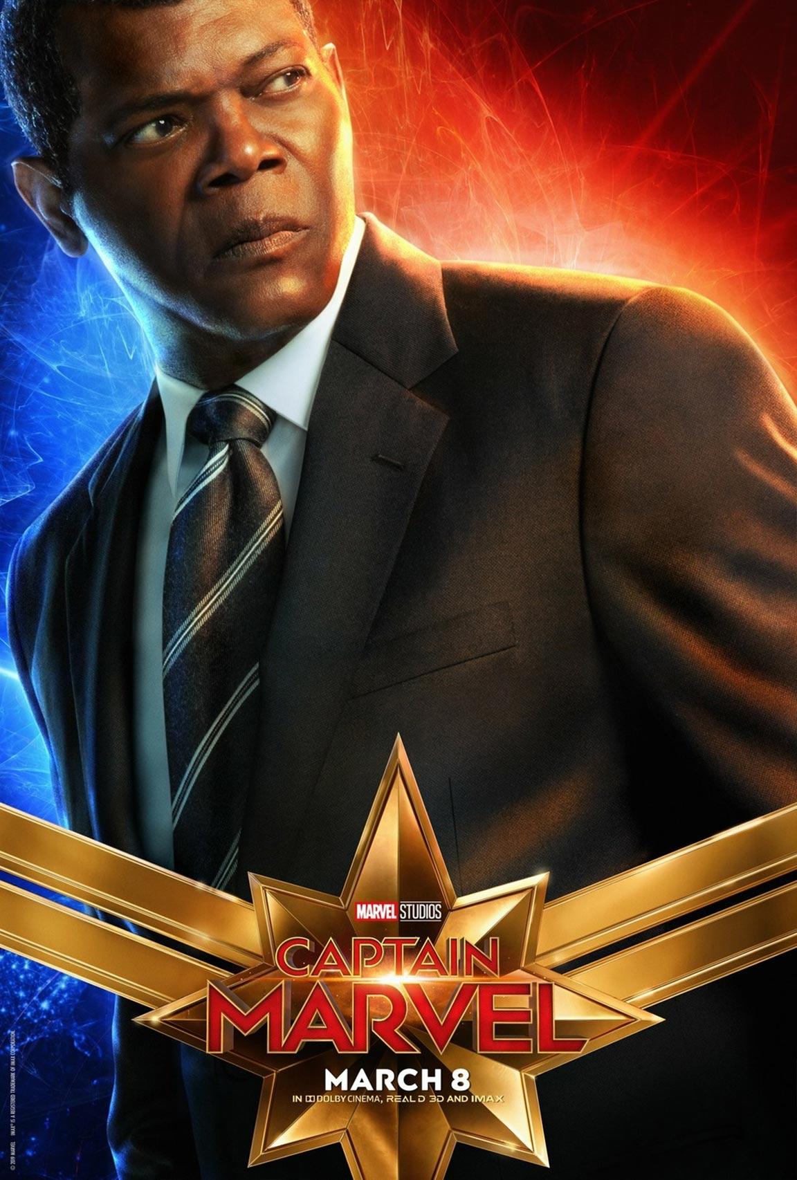 Captain Marvel Poster #8