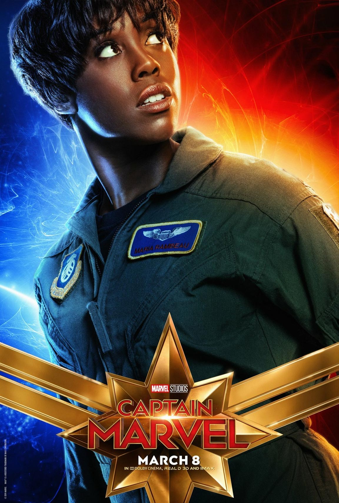 Captain Marvel Poster #9