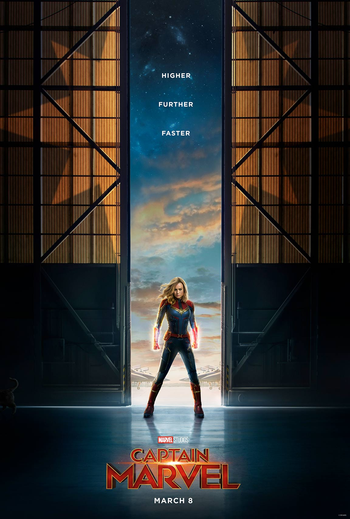 Captain Marvel Poster #1