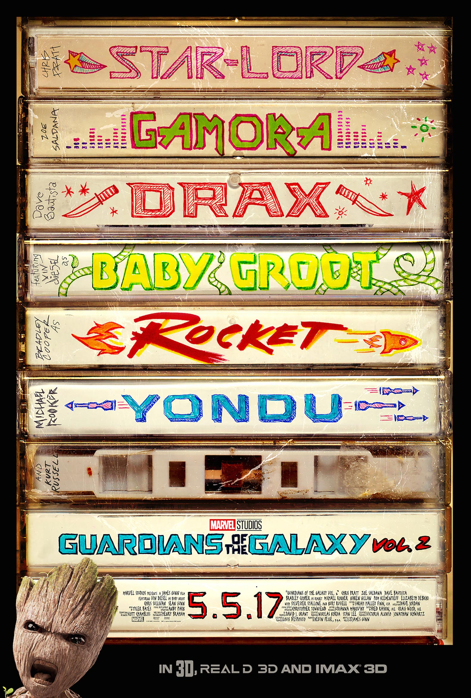 Guardians of the Galaxy Vol. 2 Poster #2
