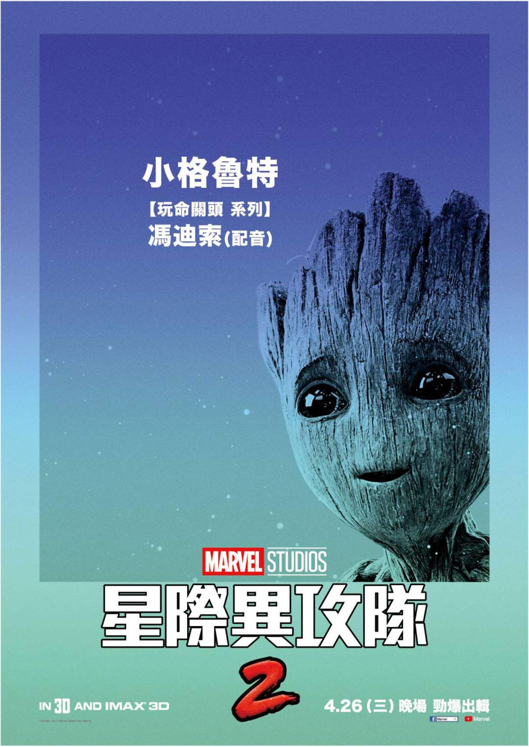 Guardians of the Galaxy Vol. 2 Poster #20