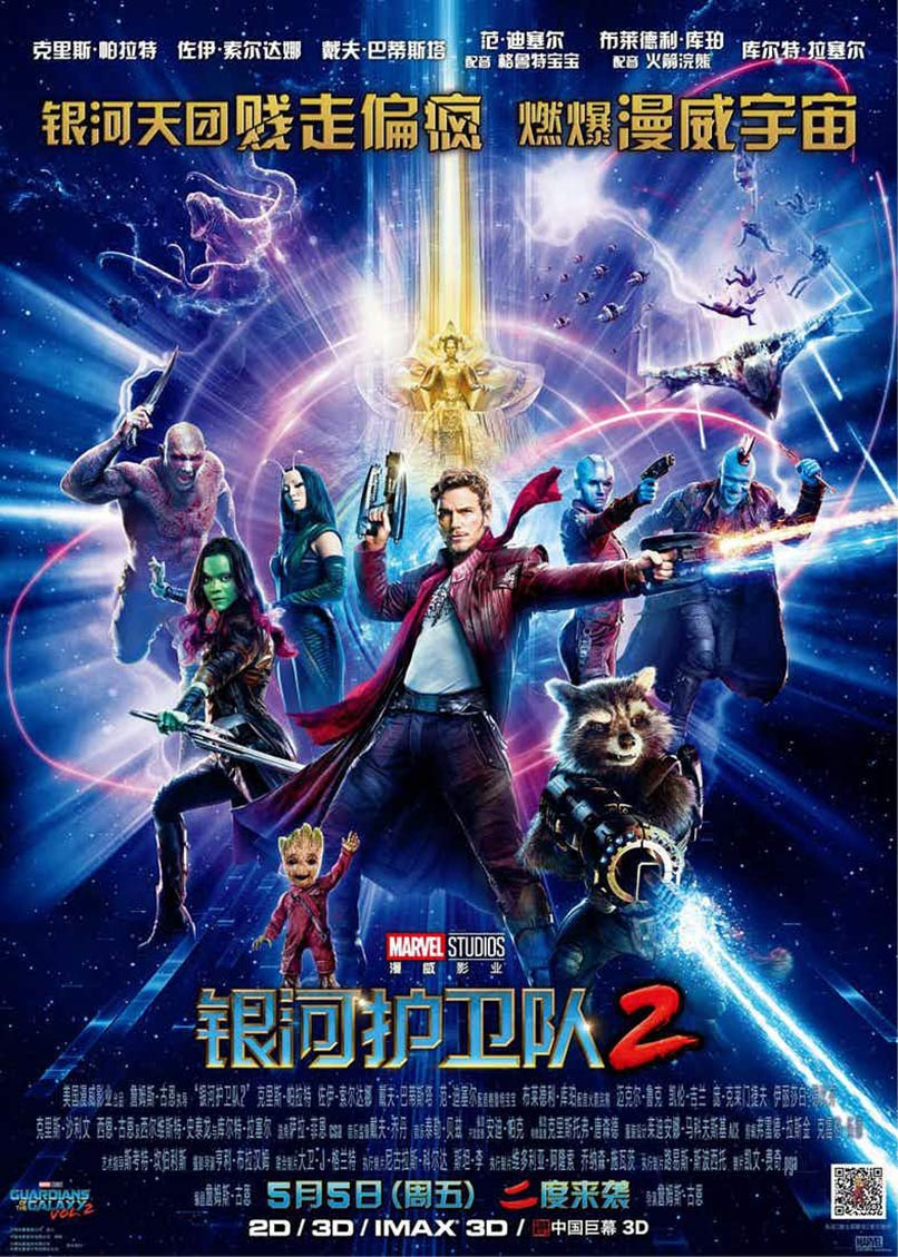 Guardians of the Galaxy Vol. 2 Poster #25