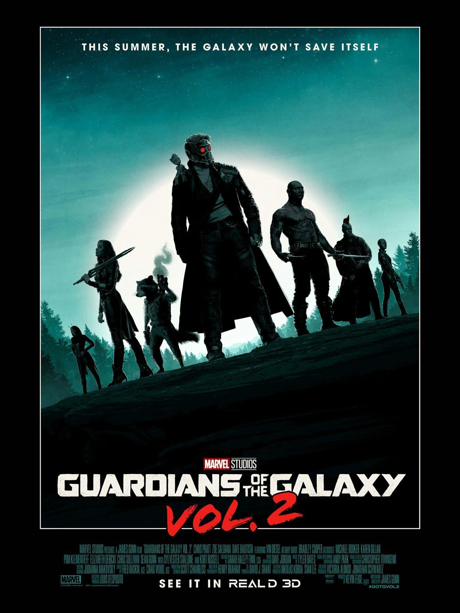 Guardians of the Galaxy Vol. 2 Poster #33