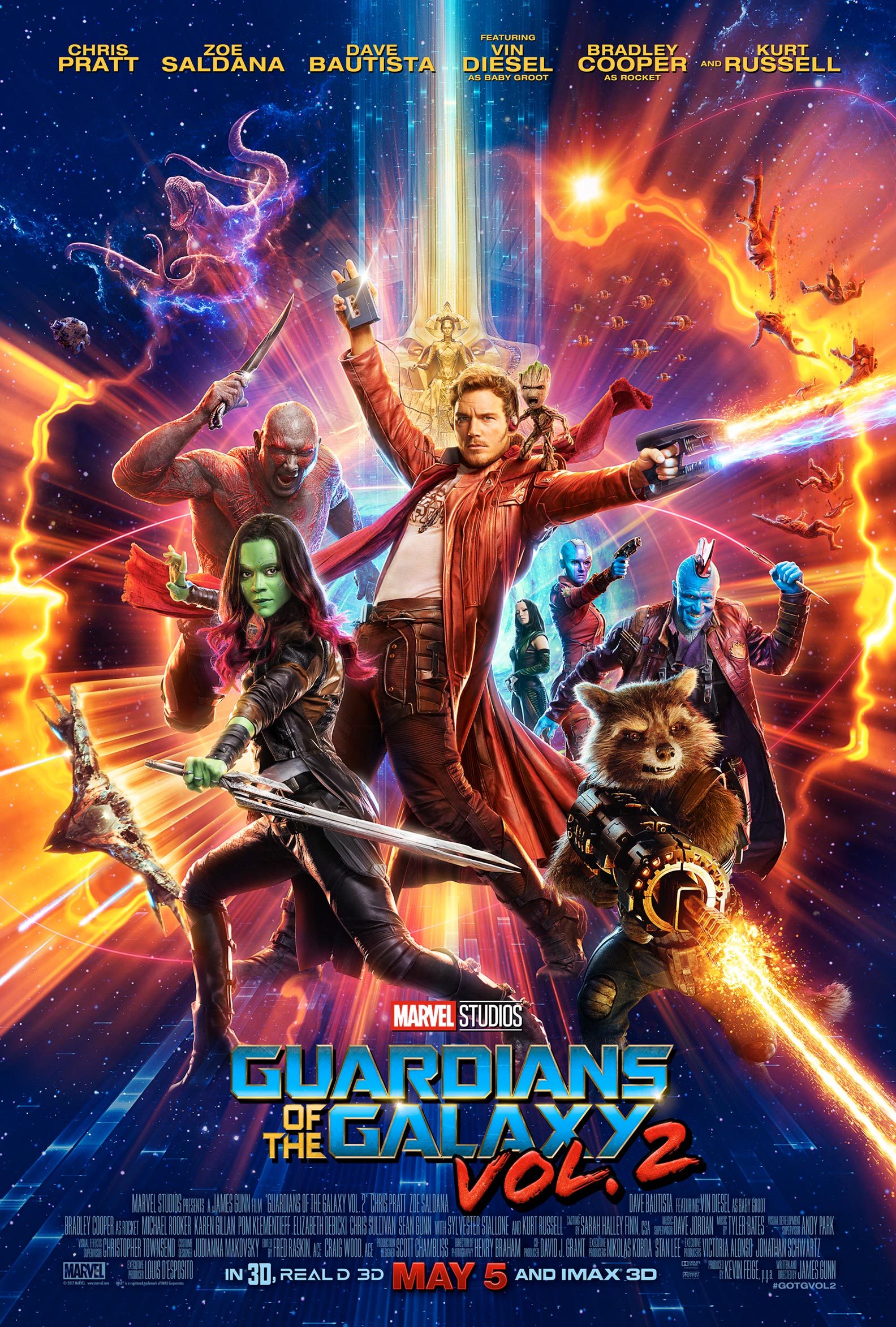 Image result for guardians of the galaxy 2 movie poster