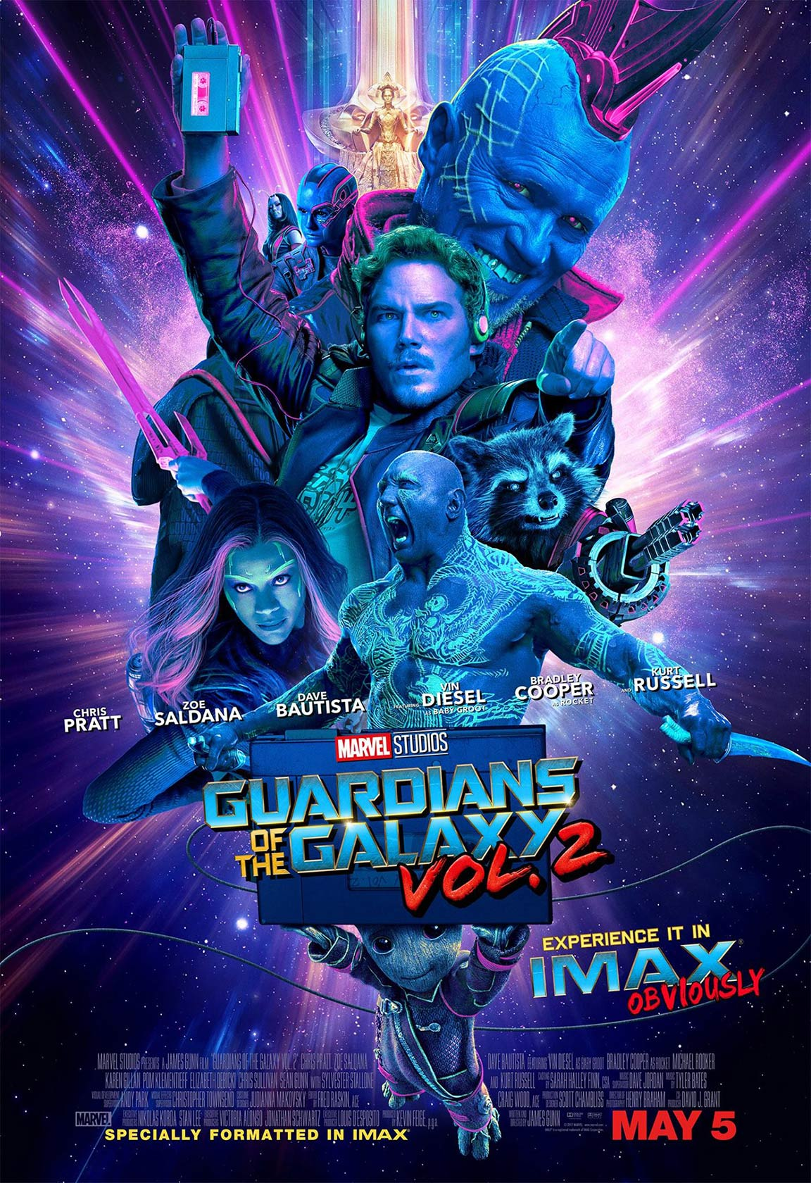 Guardians of the Galaxy Vol. 2 Poster #5
