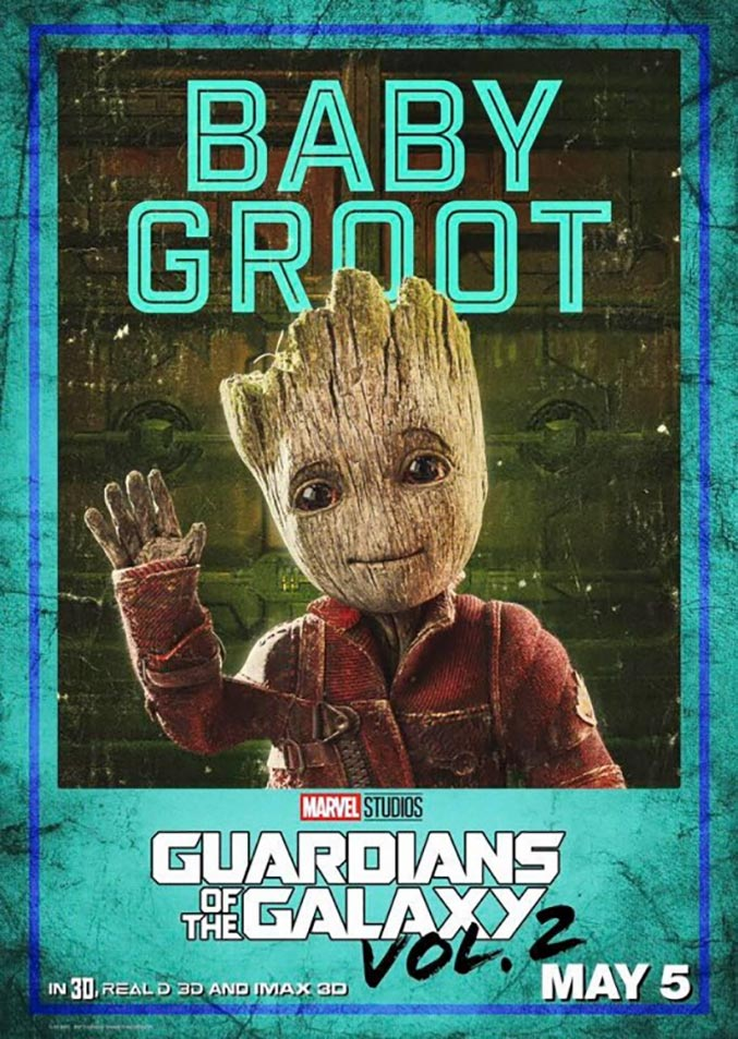 Guardians of the Galaxy Vol. 2 Poster #9