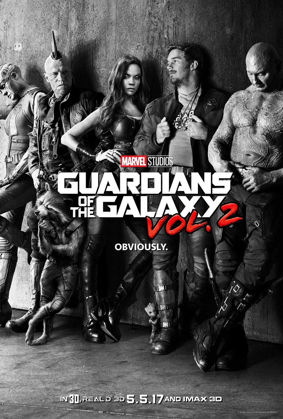 Guardians of the Galaxy Vol. 2 Poster #1