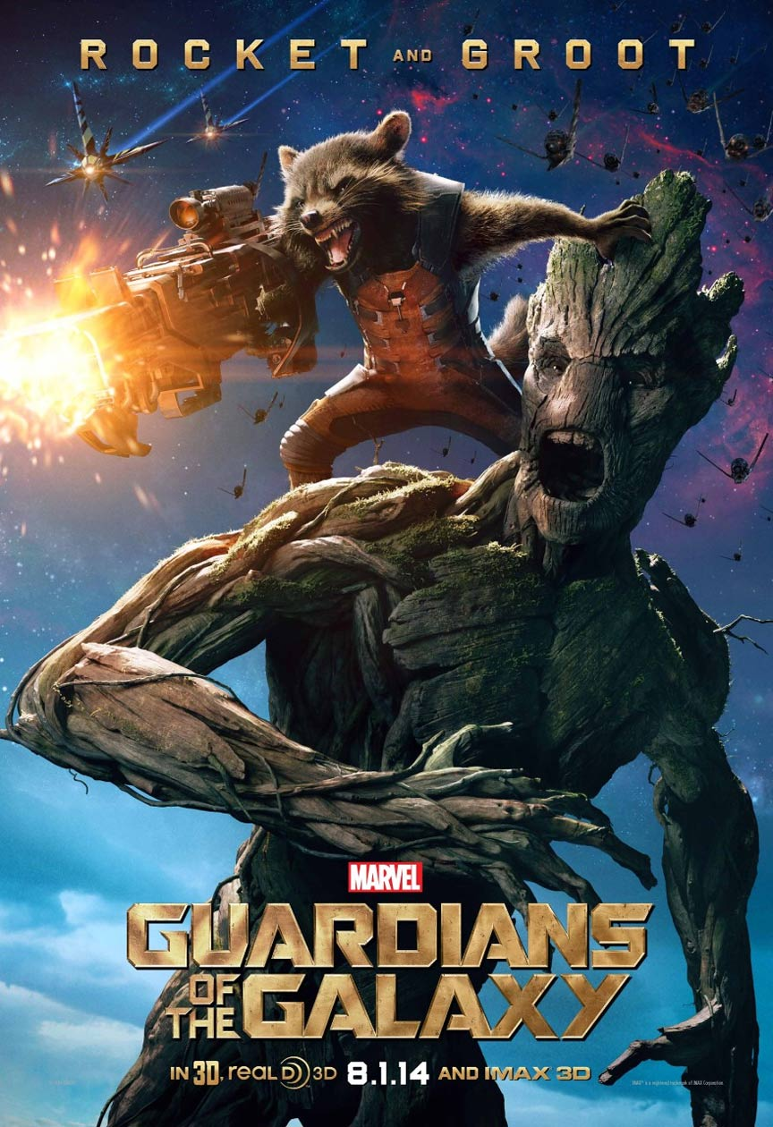 Guardians of the Galaxy Poster #4
