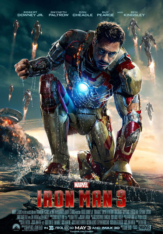 Iron Man 3 Poster #7