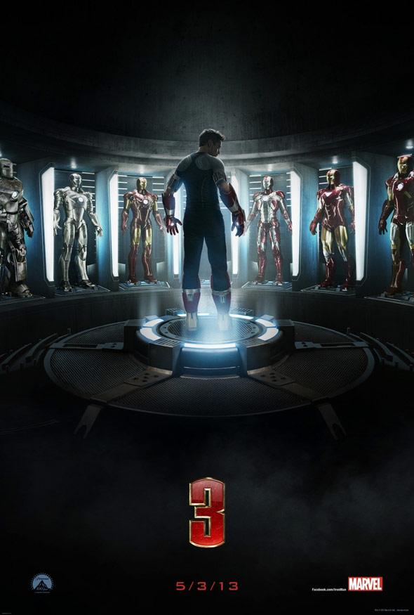 Iron Man 3 Poster #1