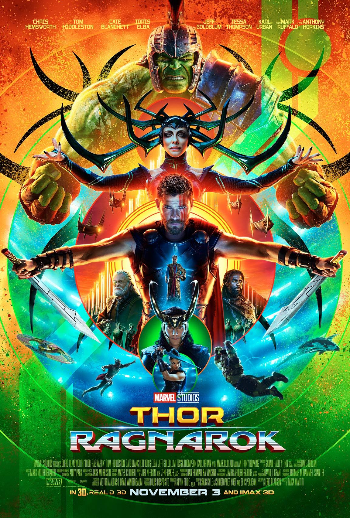 Thor: Ragnarok Poster #3
