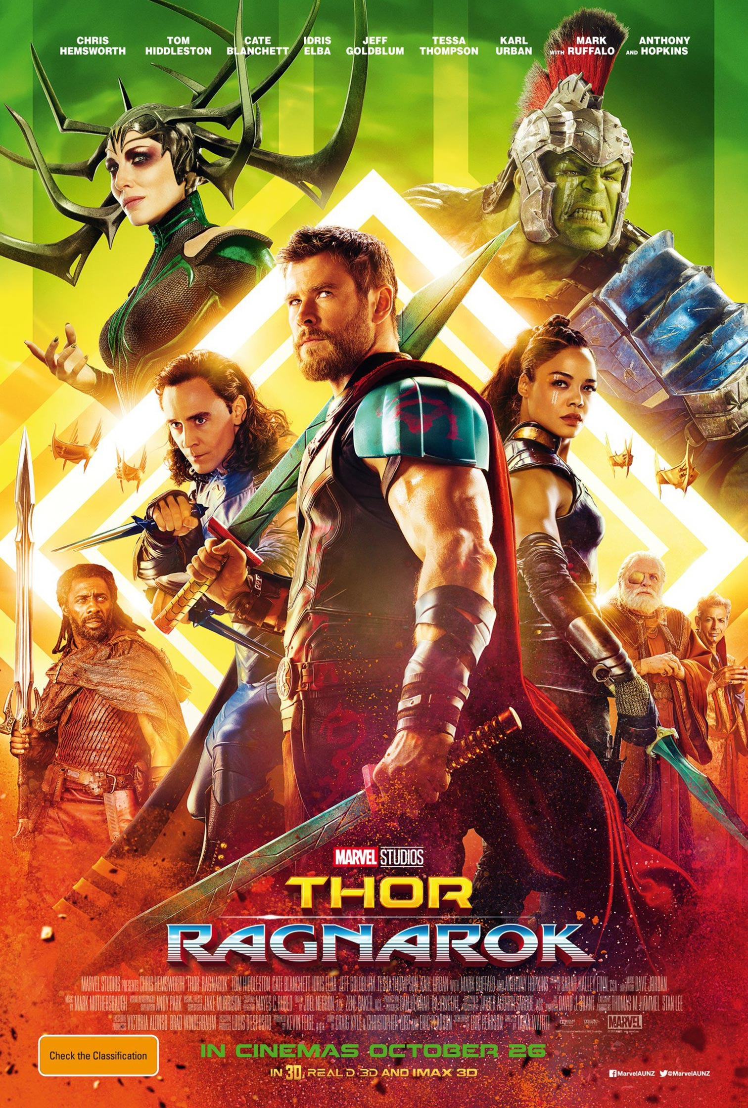 Thor: Ragnarok Poster #5