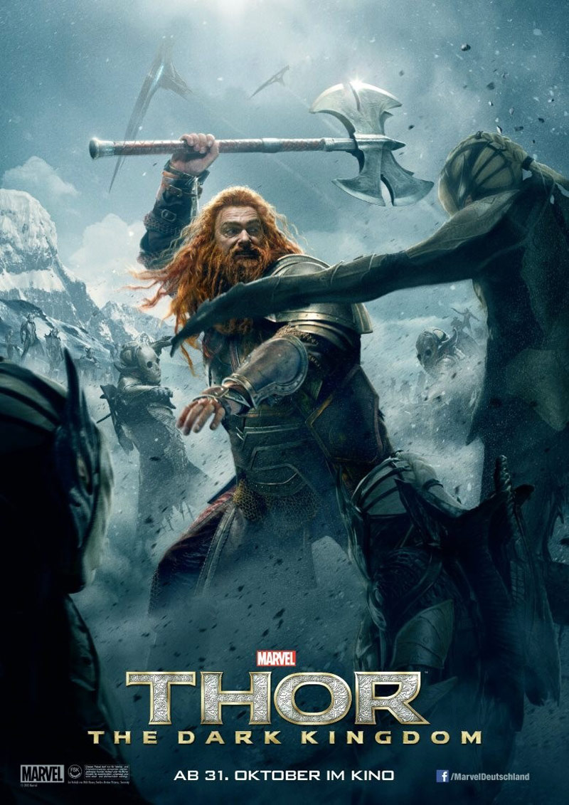 Thor: The Dark World Poster #17