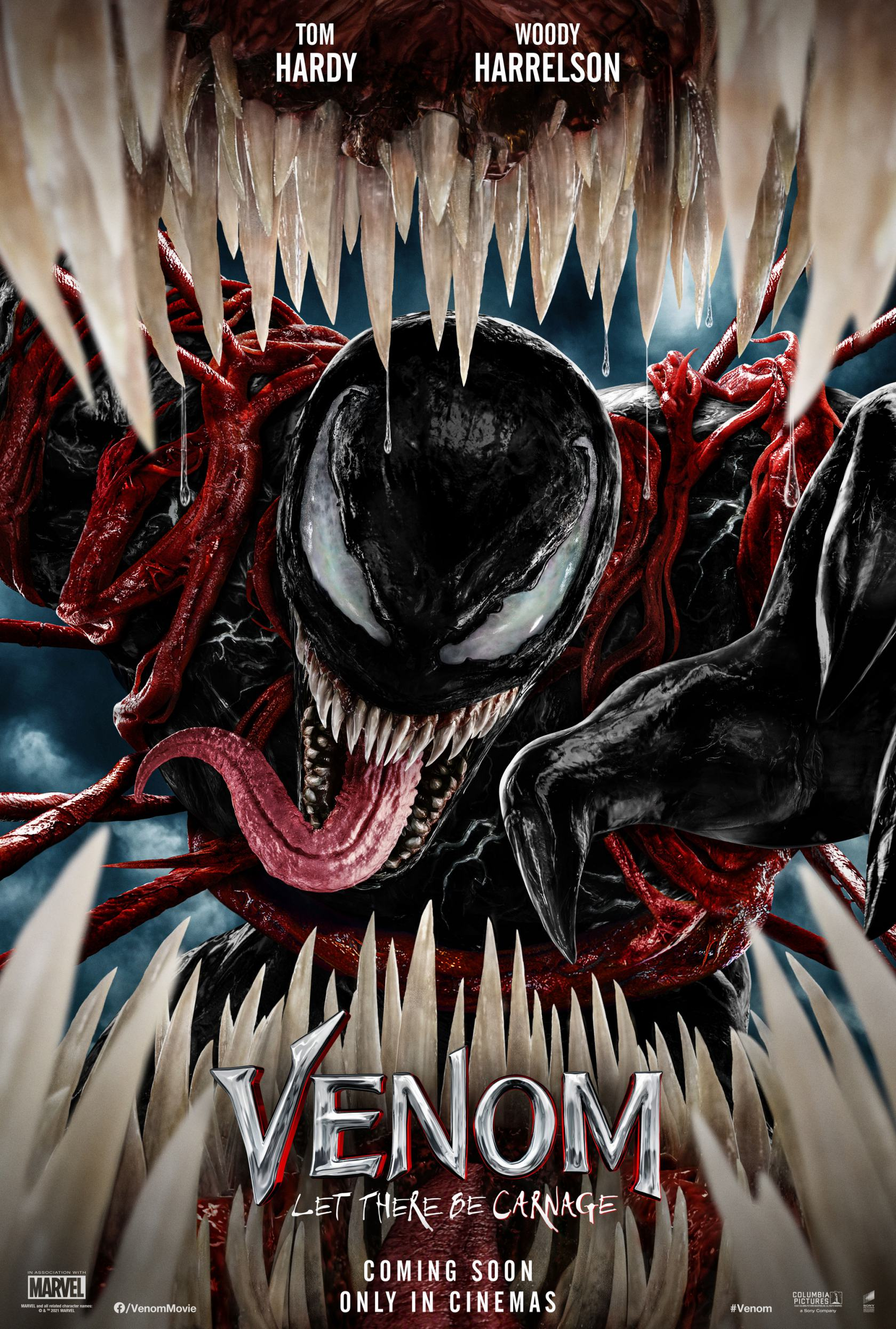 Venom: Let There Be Carnage Poster #1