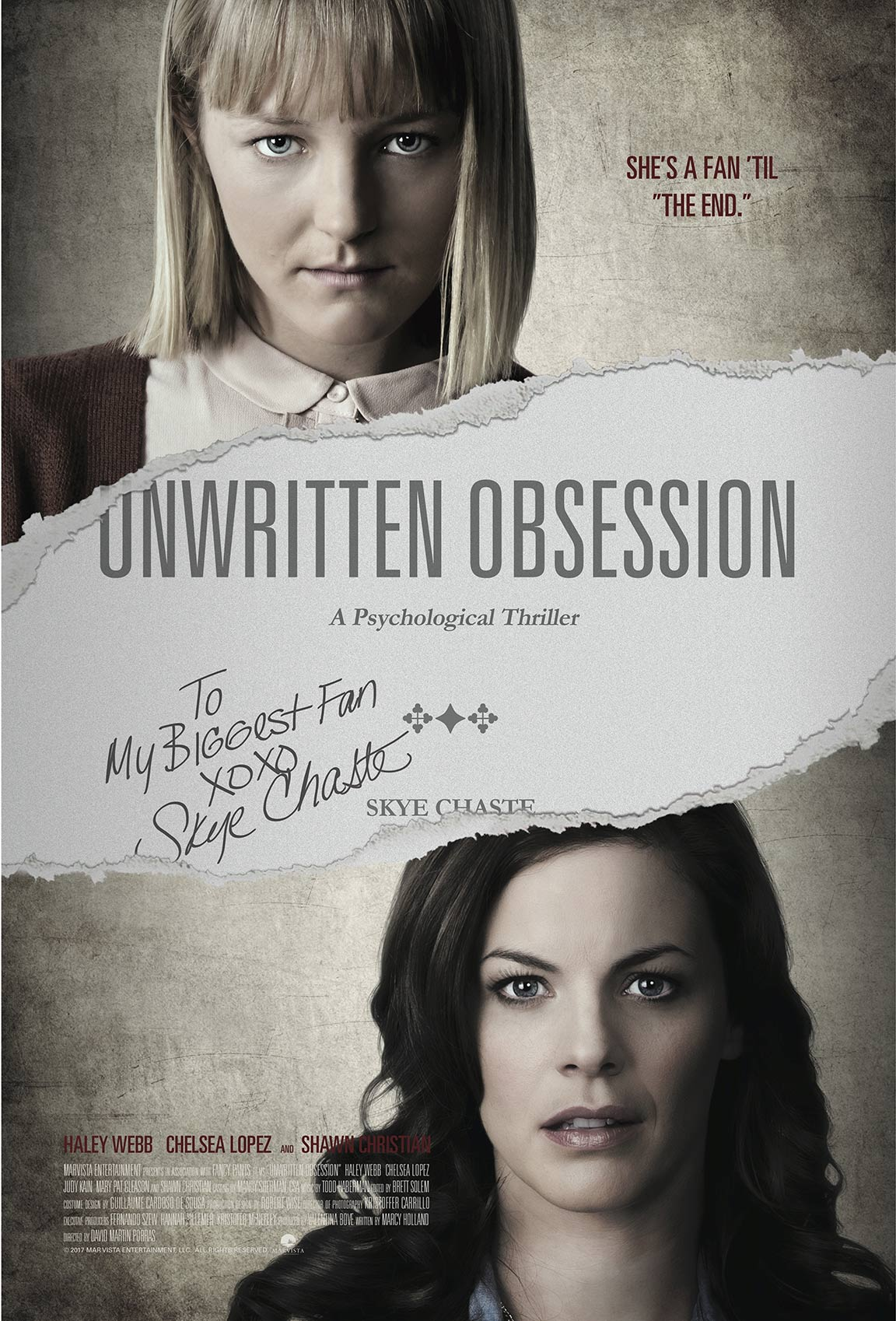 Unwritten Obsession Poster #1