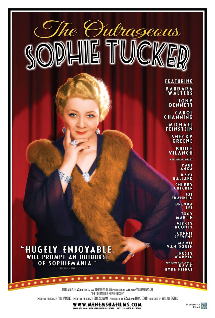 The Outrageous Sophie Tucker Poster #1