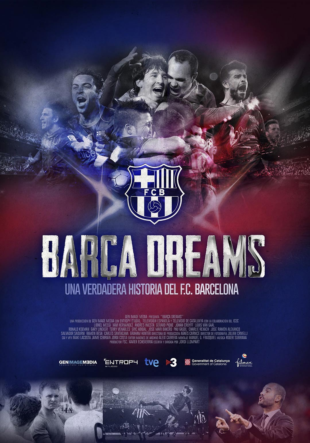 Barca Dreams Poster #1