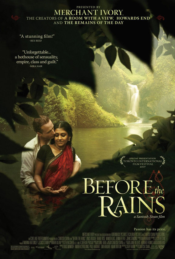 Before the Rains Poster #1