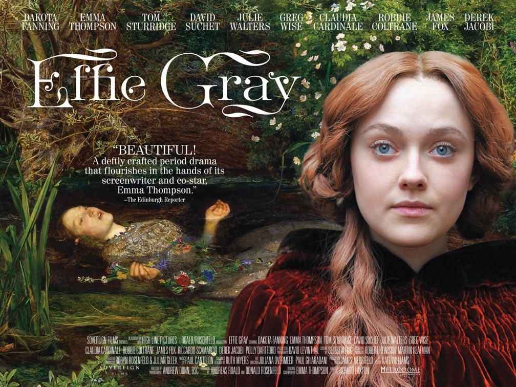 Effie Gray Poster #1
