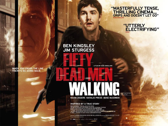 Fifty Dead Men Walking Poster #3