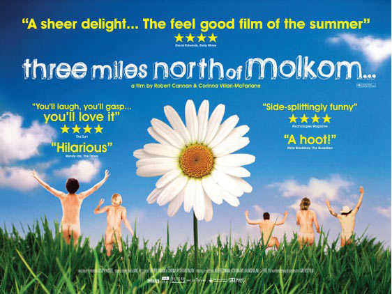 Three Miles North of Molkom Poster #1