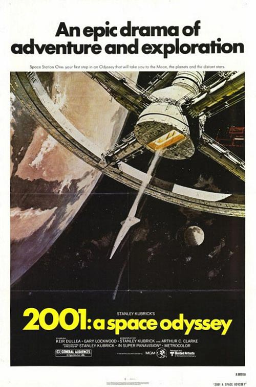2001: A Space Odyssey Poster #2