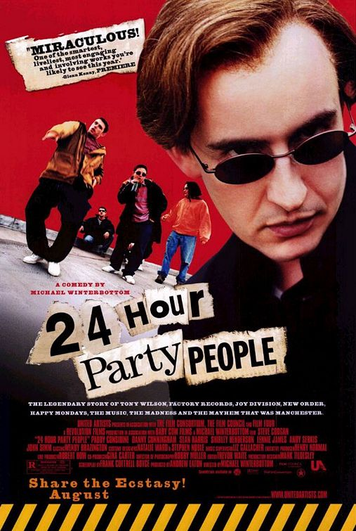 24 Hour Party People Poster #1