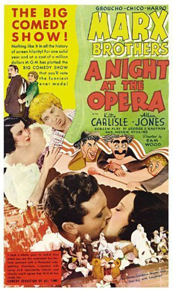 A Night at the Opera Poster #1
