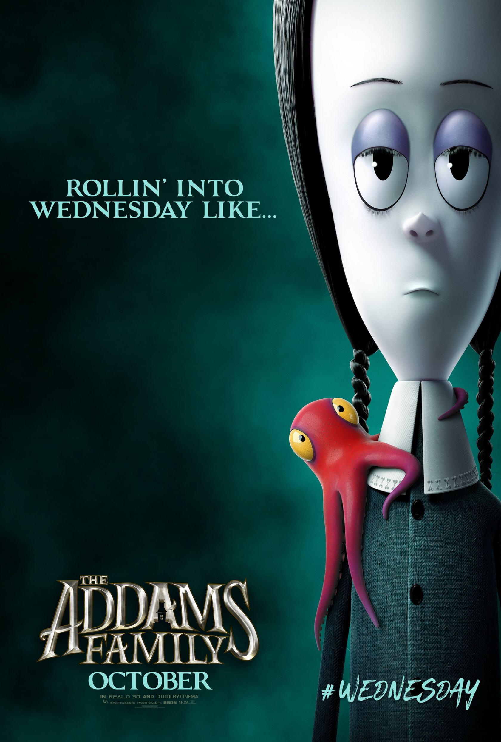 The Addams Family Poster #10