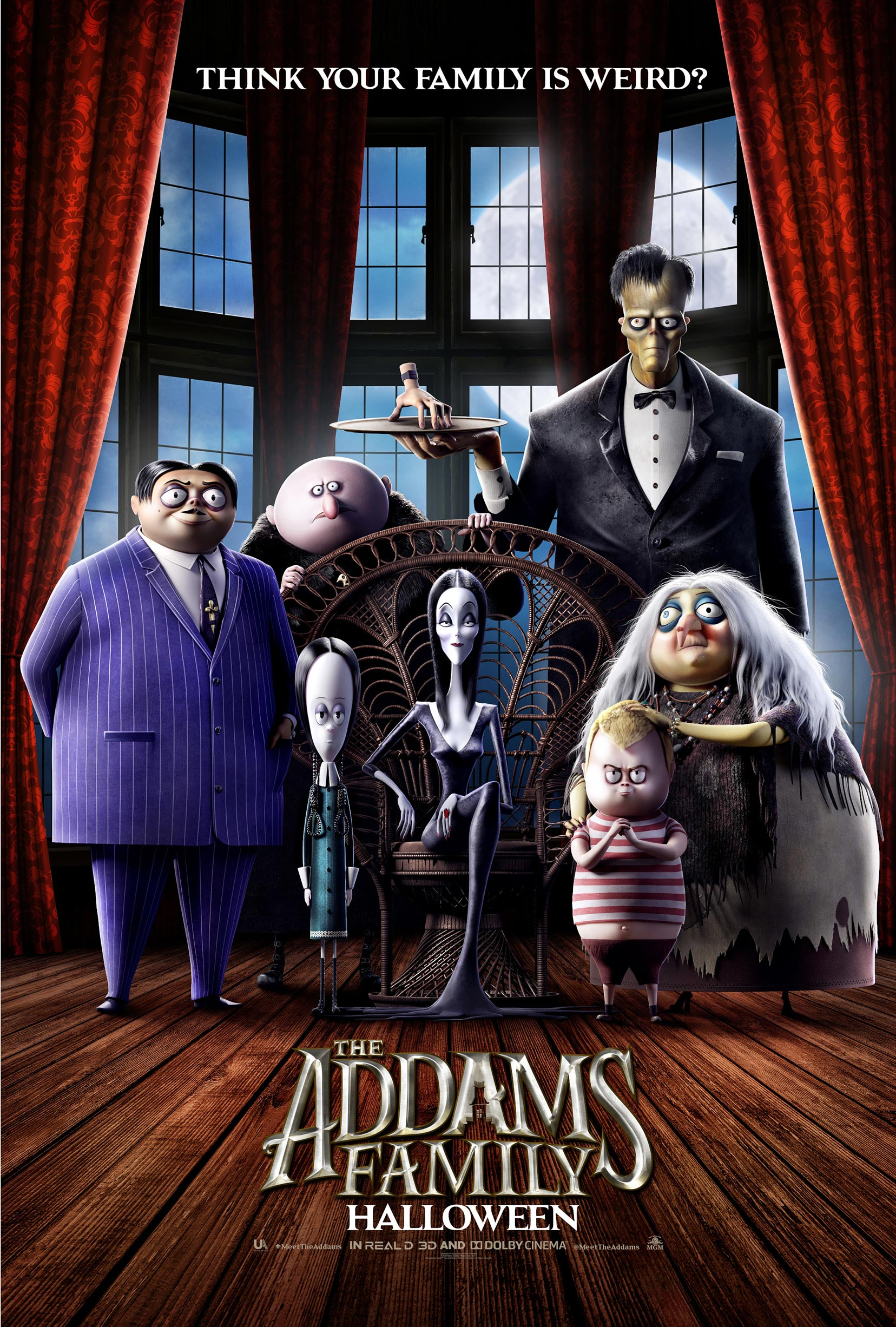 The Addams Family Poster #1