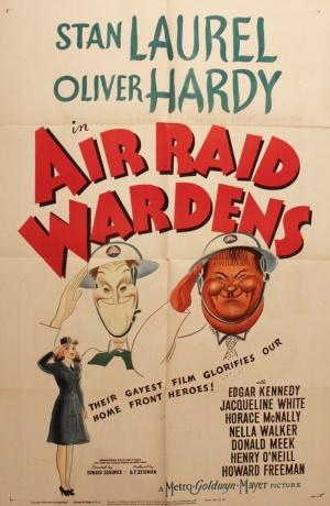 Air Raid Wardens Poster #1