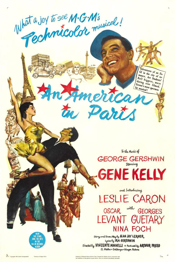 An American in Paris Poster #1