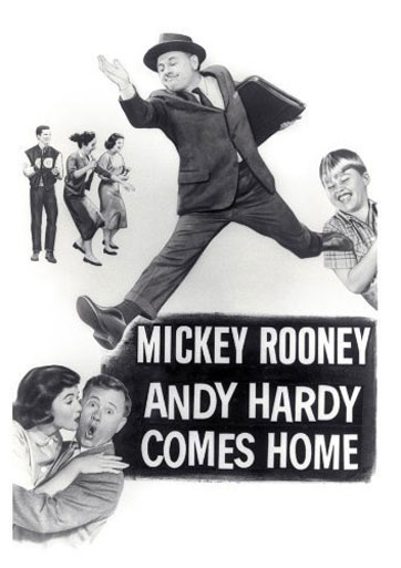 Andy Hardy Comes Home Poster #1