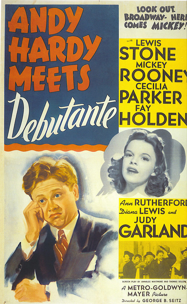 Andy Hardy Meets Debutante Poster #1