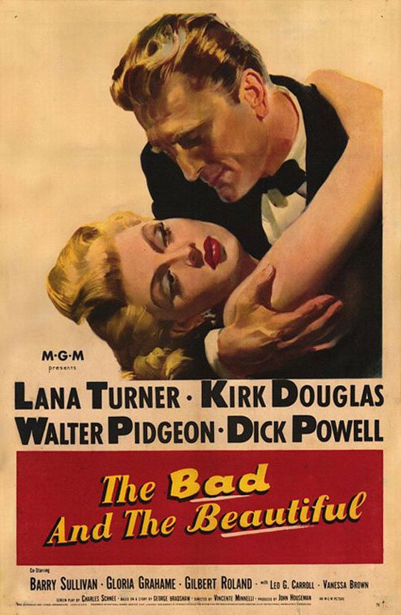 The Bad and the Beautiful Poster #1