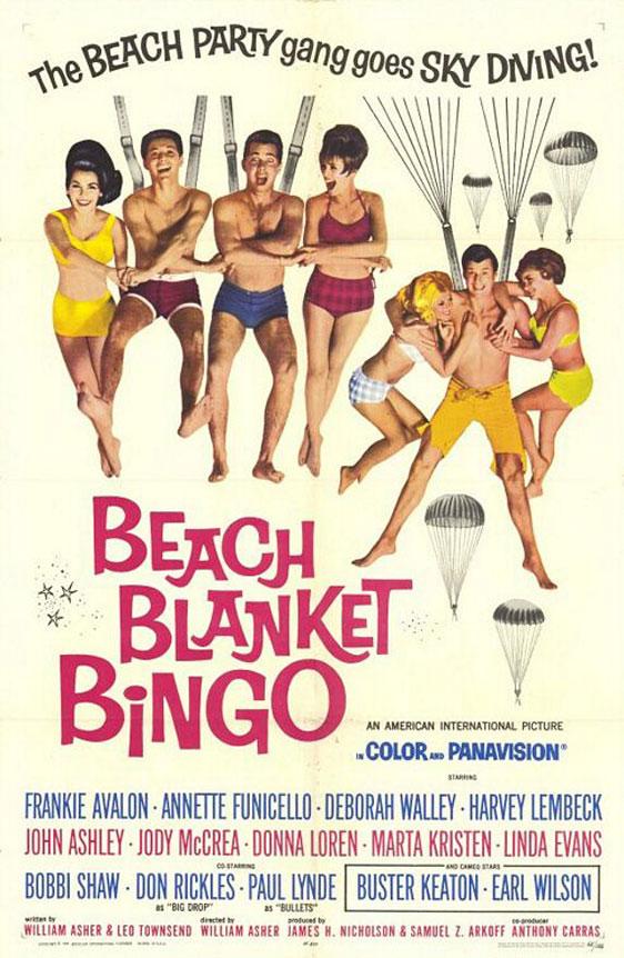 Beach Blanket Bingo Poster #1
