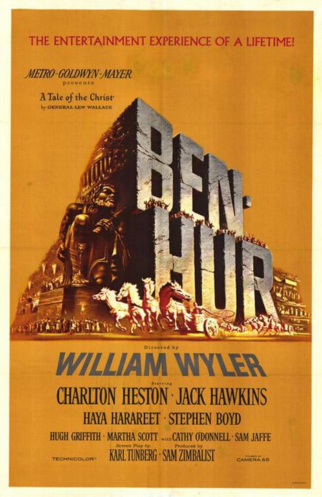 Ben Hur 1959 Poster #1