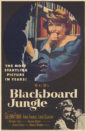 Blackboard Jungle Poster #1