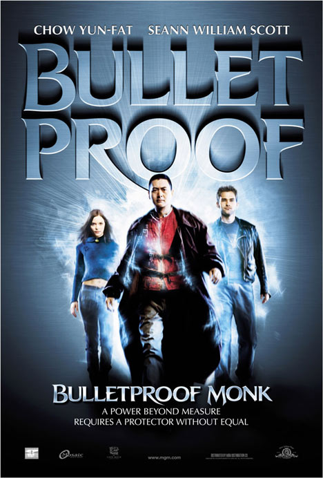 Bulletproof Monk Poster #1