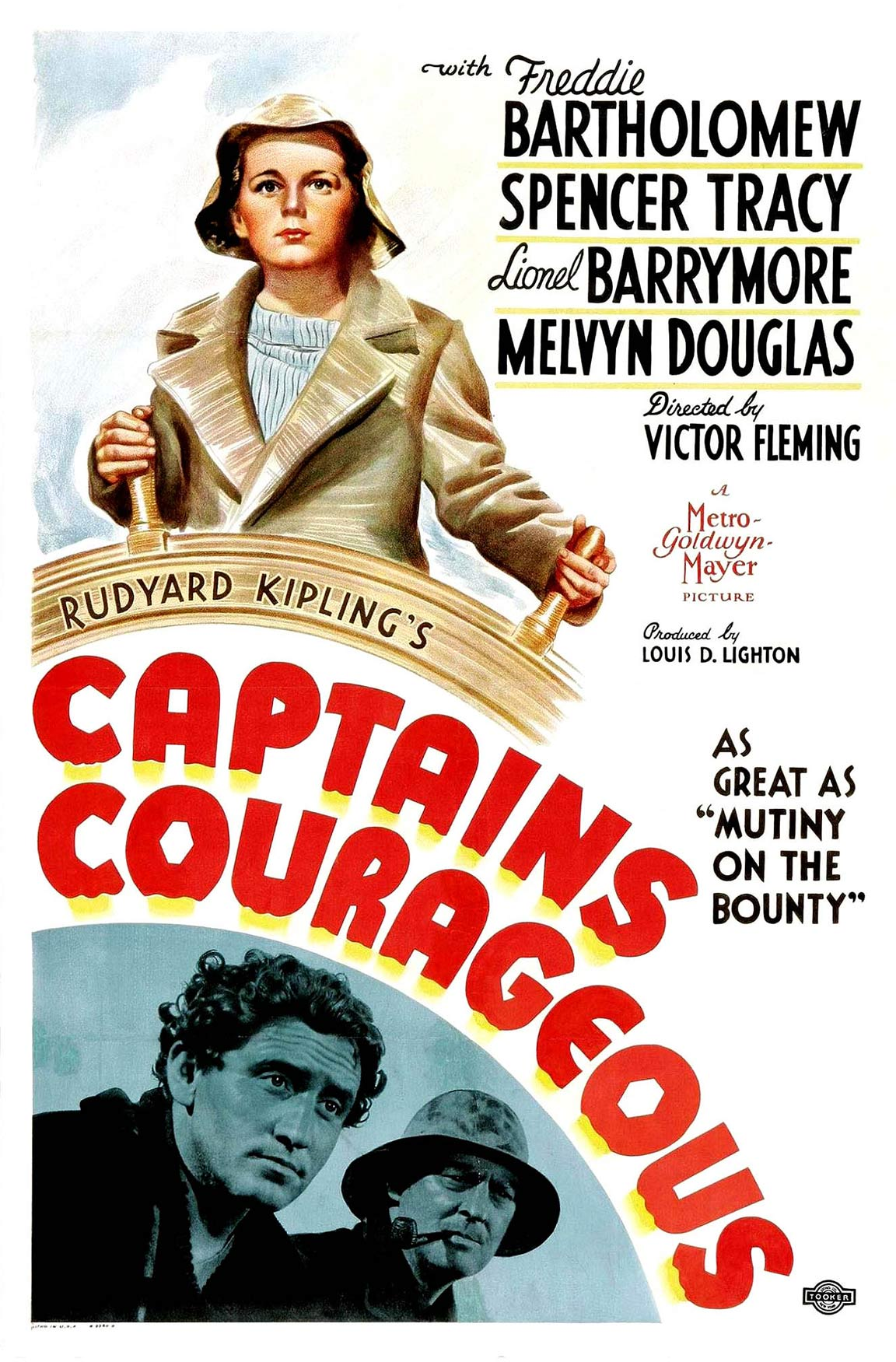 Captains Courageous Poster #1