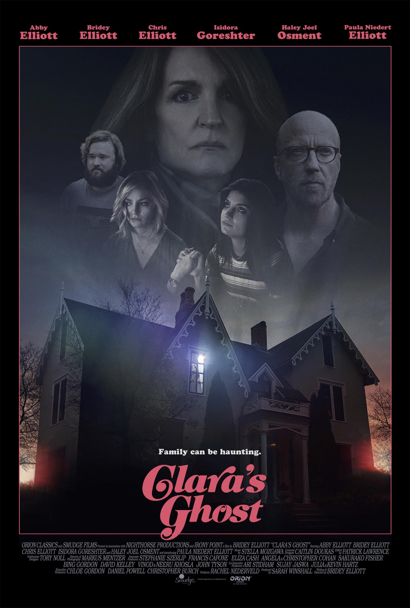 Clara's Ghost Poster #1