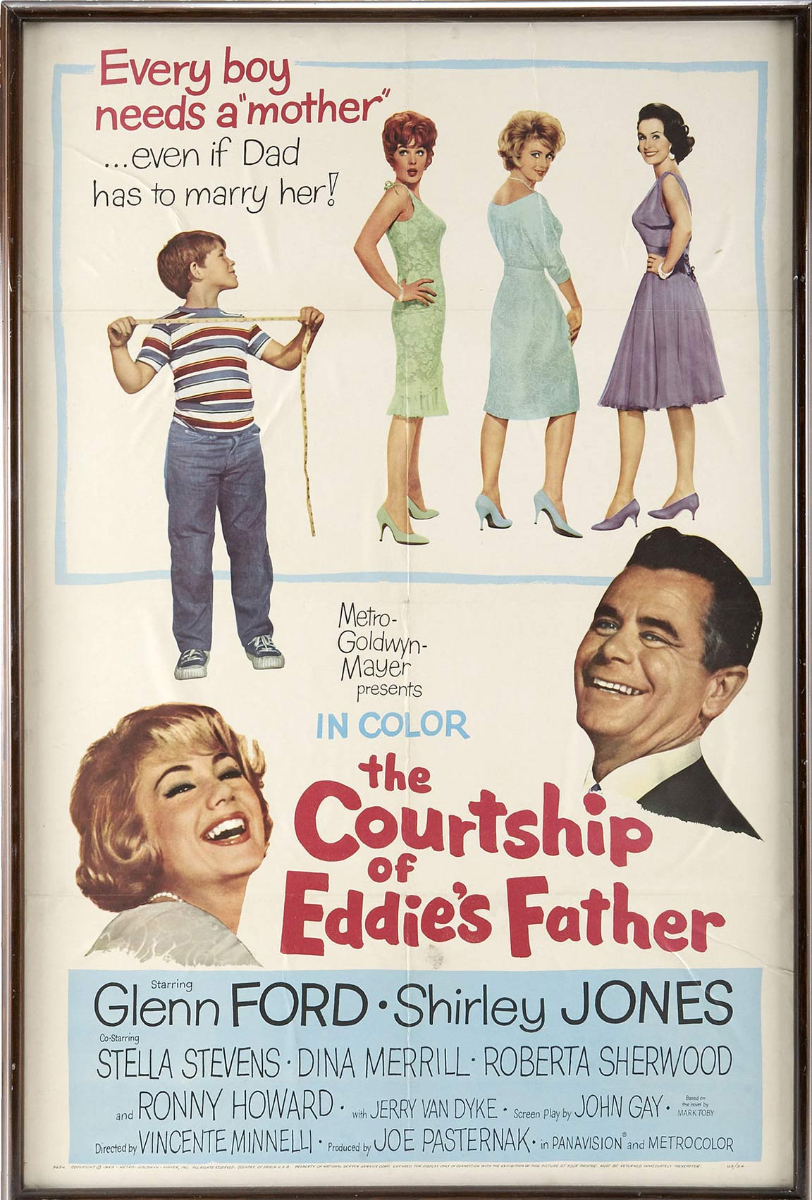 The Courtship of Eddie's Father Poster #1