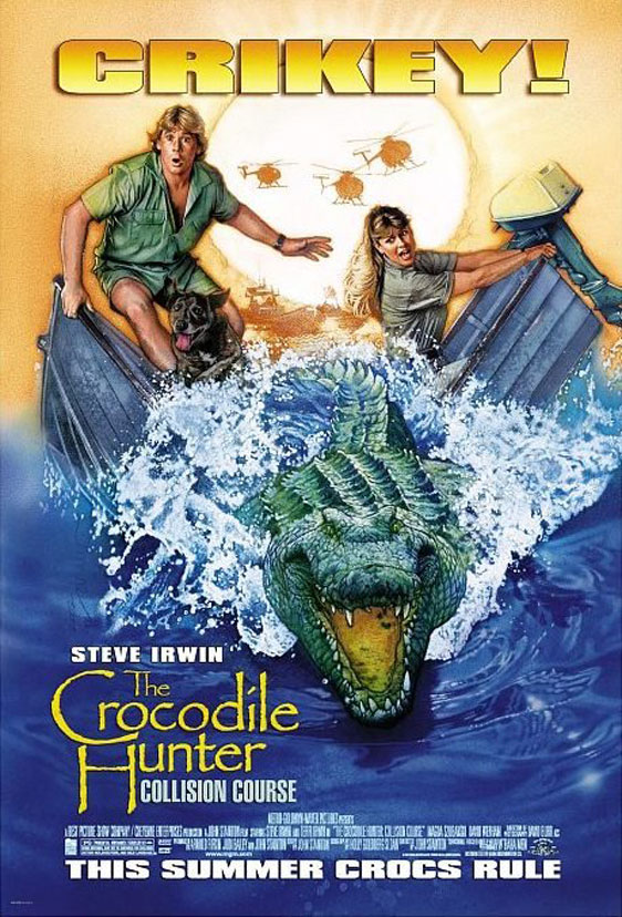The Crocodile Hunter: Collision Course Poster #1