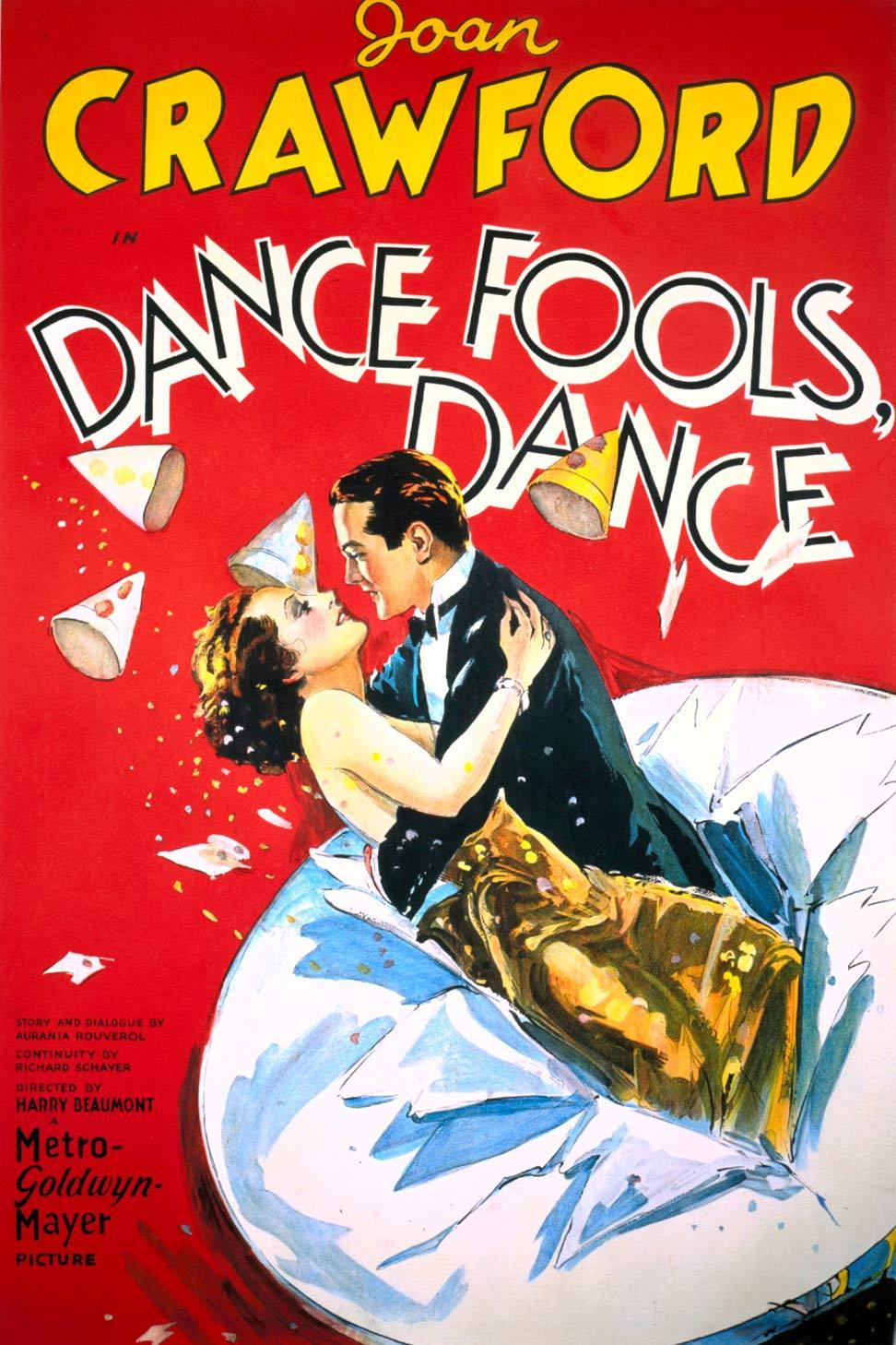 Dance, Fools, Dance Poster #1