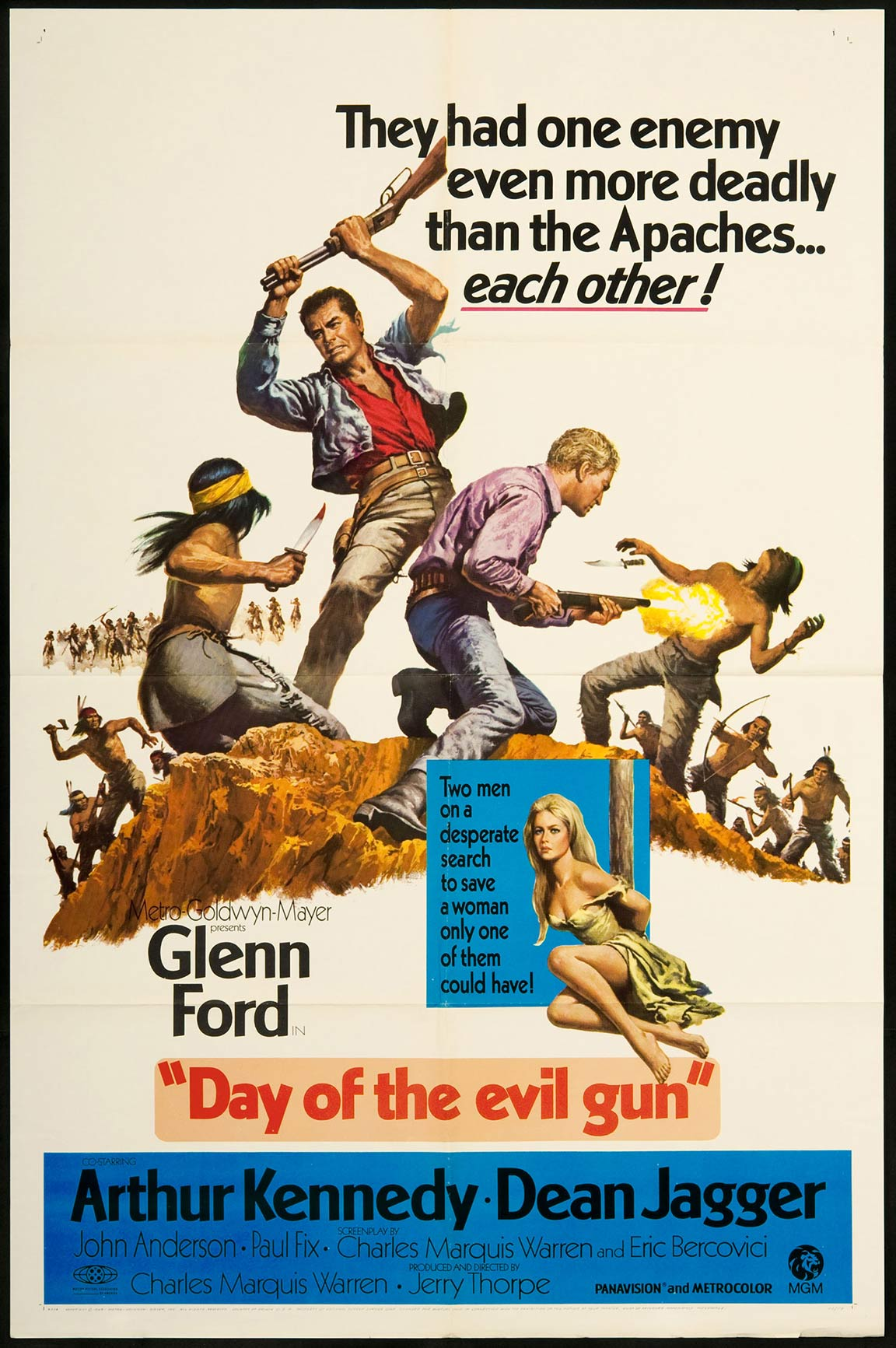 Day of the Evil Gun Poster #1