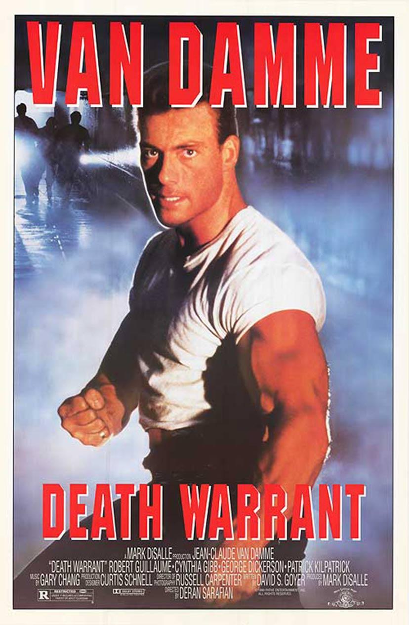 Death Warrant Poster #1